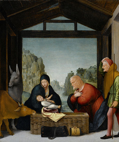 Bramantino, The Adoration of the Shepherds, 1500-1535