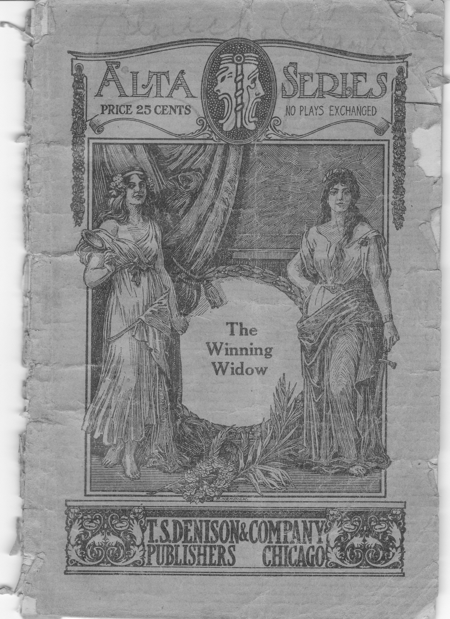 The Winning Widow-A Parlor Comedy 1916