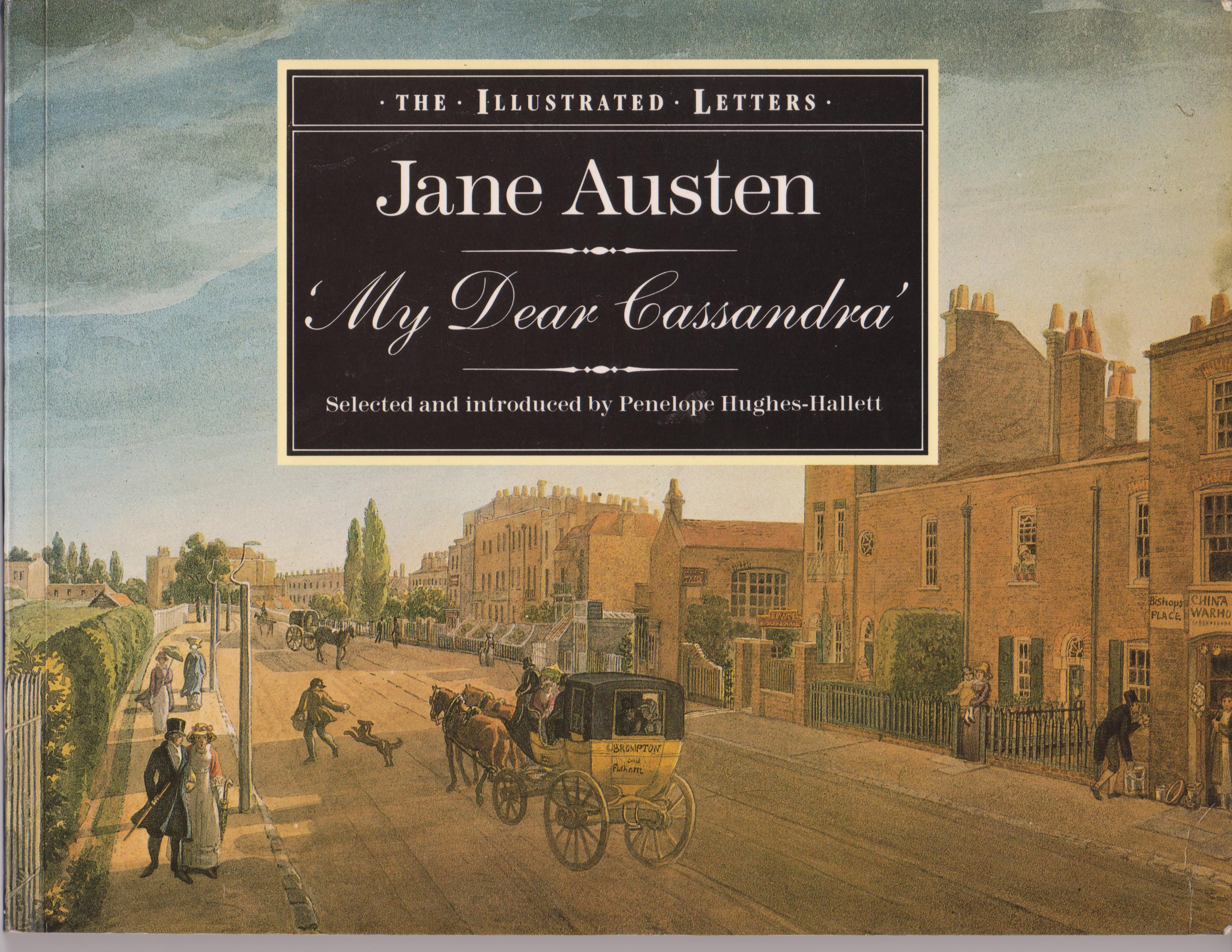 Cover Jane Austen 'My Dear Cassandra' 001