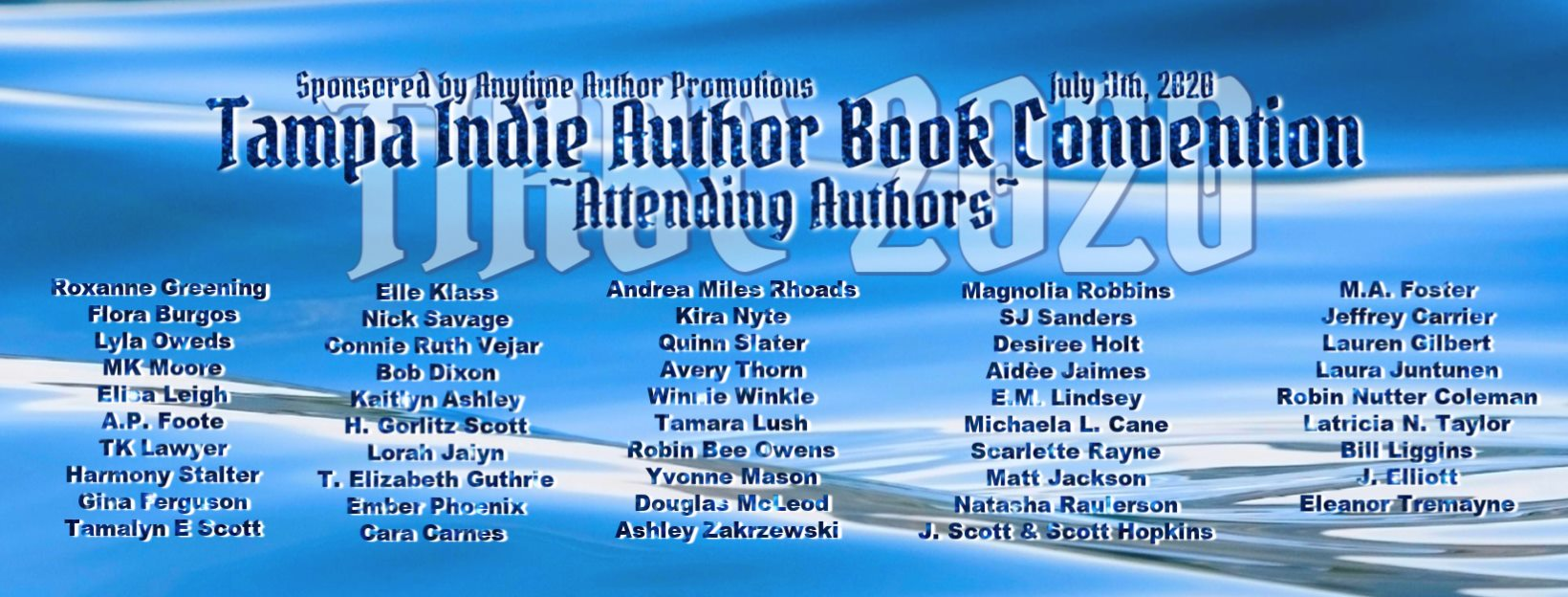 Tampa Indie Authors banner 2020